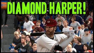 MLB 15 The Show Diamond Dynasty Gameplay! Harper And Ozzie Smith Debut In High Scoring Game!