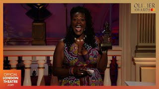Sharon D. Clarke wins Best Actress for Death of a Salesman | Olivier Awards 2020 with Mastercard