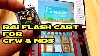 3DS R4i B9S flash cart for Luma CFW, HomeBrew & NDS