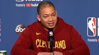 Tyronn Lue Interview - Game 4 Preview | Warriors vs Cavaliers | 2018 NBA Finals Media Availability