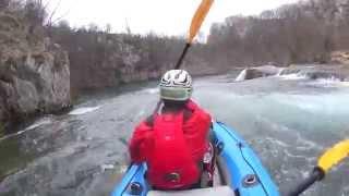 Kayaking Mreznica Canyon - Raftrek Adventure Travel
