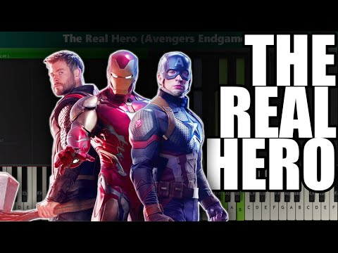 The Real Hero (Avengers: Endgame OST) Piano Tutorial - Sheet Music thumbnail