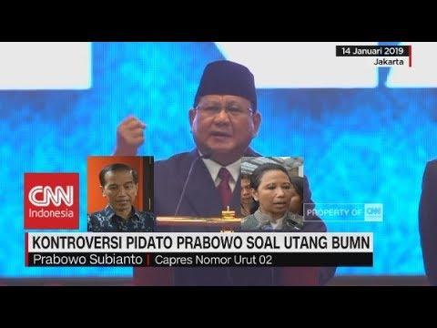 Kontroversi Pidato Prabowo Soal Utang BUMN, Ini Kata Jokowi & Rini Soemarno