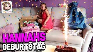 HANNAHS 7. GEBURTSTAG - Geschenke auspacken 💖 Hannah Spezial
