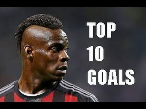 Mario Balotelli - TOP 10 GOALS - AC Milan