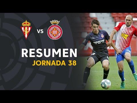 Gijon Girona Goals And Highlights