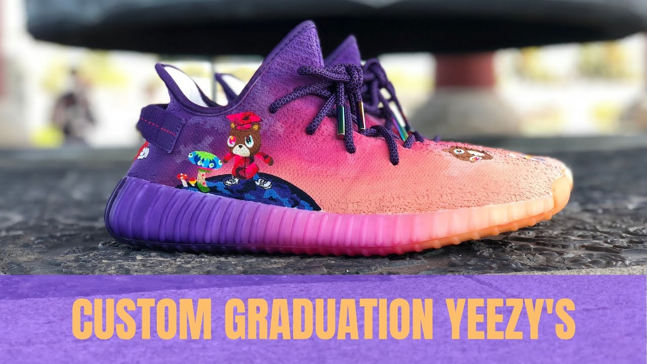 KANYE WEST custom Graduation themed