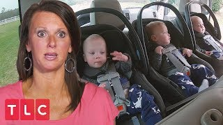 Loading Up a Car Full of Sextuplets | Sweet Home Sextuplets