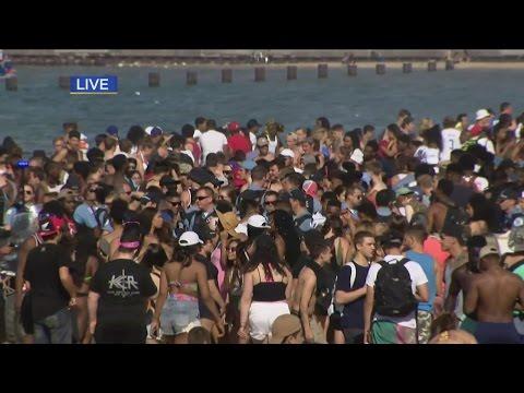Disturbances Reported At Chicago Beaches