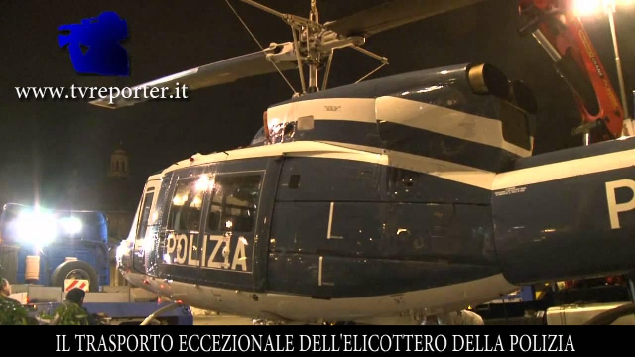 Un Elicottero : Il trasporto eccezionale di un elicottero youtube