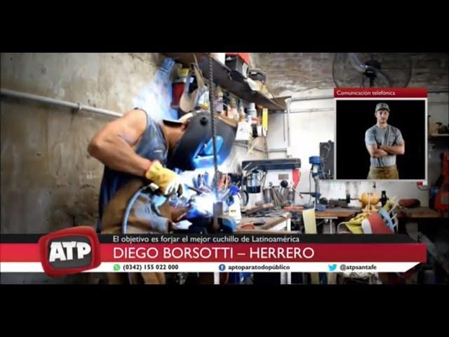 """Diego Borsotti, herrero - Participó en el reality """"Desafío sobre Fuego"""" - ATP 12 08 2020"""