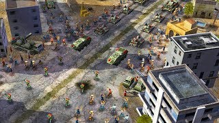 Chinese VICTORY PARADE in BIG CITY | Command & Conquer: Generals Gameplay
