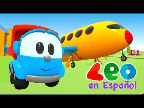 Leo el Pequeño Camión - Leo y el Avión