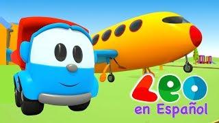 Gambar cover Leo el Pequeño Camión - Leo y el Avión
