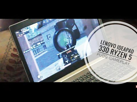 Lenovo ideapad 330 Ryzen 5 PUBG Gameplay 2019 [Hindi]