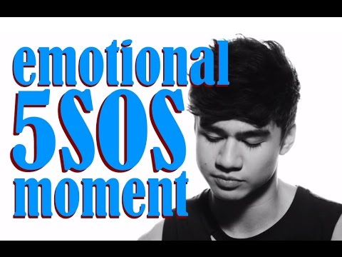 5SOS remember the first time Calum seen Fans sing HIS Song
