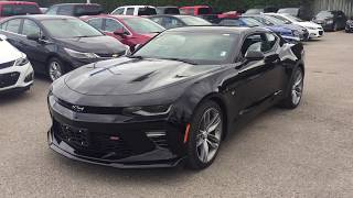 2018 Chevrolet Camaro SS Coupe Black Roy Nichols Motors Courtice ON