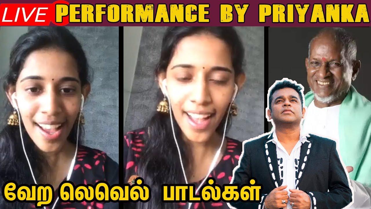 Ilaiyaraaja,A.R.Rahman முதல்.....96 Kadhale Kadhale வரை....Mesmerizing Song Performance by  Priyanka