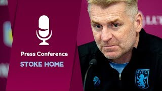 Press conference: Stoke home