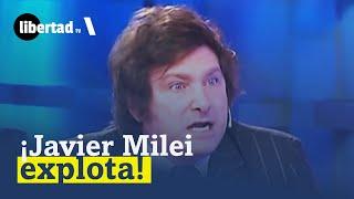 Javier Milei EXPLOTA ante zurdos argentinos