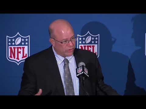 RAW VIDEO: David Tepper officially named new owner of Carolina Panthers