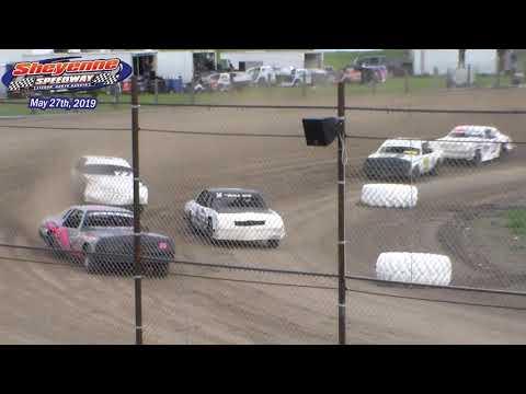 Sheyenne Speedway Hobby Stock Heats (5/27/19)