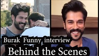 Burak özçivit interview & funny Behind the scenes