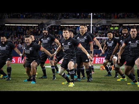USA respond to Māori All Blacks spine-tingling Haka