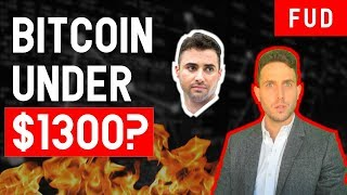 BITCOIN TO $1300!? How to predict BTC bottom & make millions in bear market ETH EOS NEO