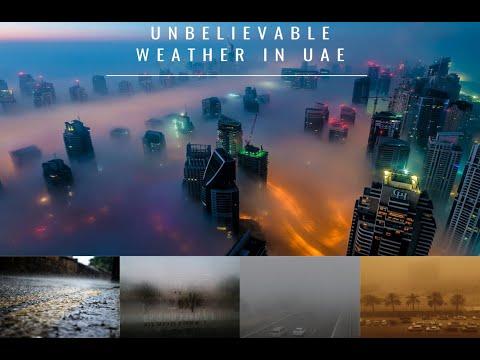 Unbelievable weather In UAE | Fog in UAE | Rain in UAE |  ST