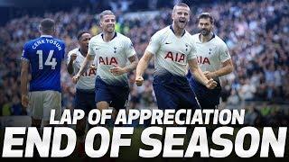 SPURS' END OF SEASON LAP OF APPRECIATION!