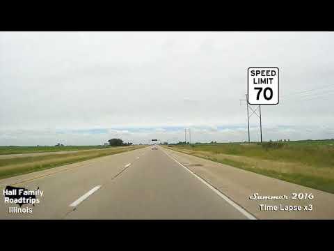 Illinois 2016   I 39 exit 45 to 59A I 80 East