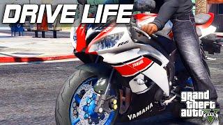 GTA 5 Drive Life #8 - 2015 Yamaha YZF R6!