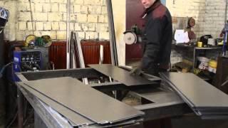 металлические двери оптом производство(видео с производства ООО