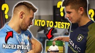 Czy MACIEJ RYBUS rozpozna Polskich YouTuberów?!