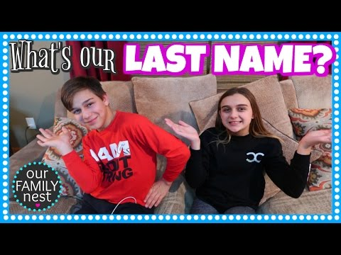 RELEASING OUR LAST NAME // OUR FAMILY NEST
