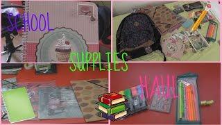 Отново на училище с Яна: School supplies haul