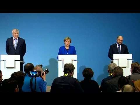 Germany's biggest parties agree to open talks for new coalition