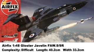 Airfix 1:48 Gloster Javelin FAW 9/9R Kit Review