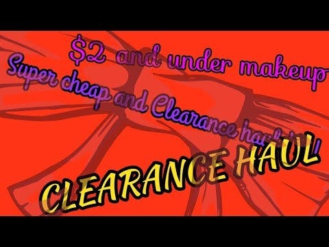 Cheap , discount and Clearance Haul!!!