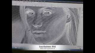 Zapętlaj Lasergravur auf Acrylglas | David Neumann