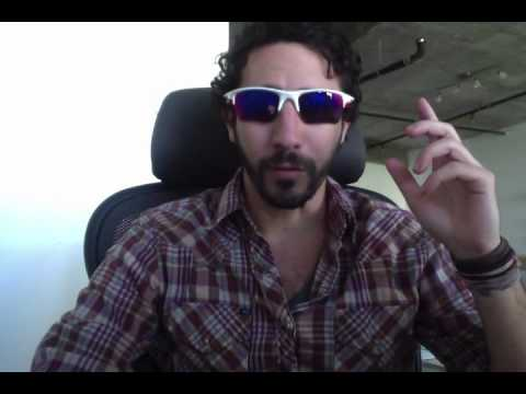 oakley fast jacket  Oakley Fast Jacket XL Sunglasses 9156 Review \u0026 Sizing - YouTube