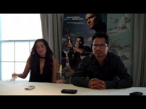 Interview with Michael Peña and Natalie Martinez for