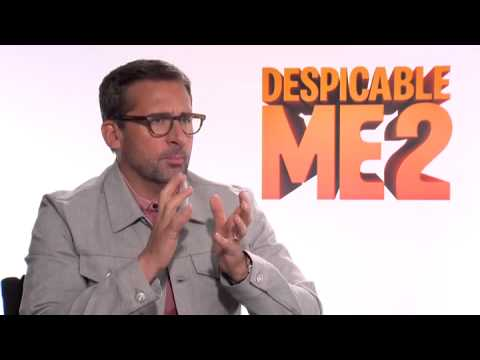 Steve Carell who plays the lead character Gru in