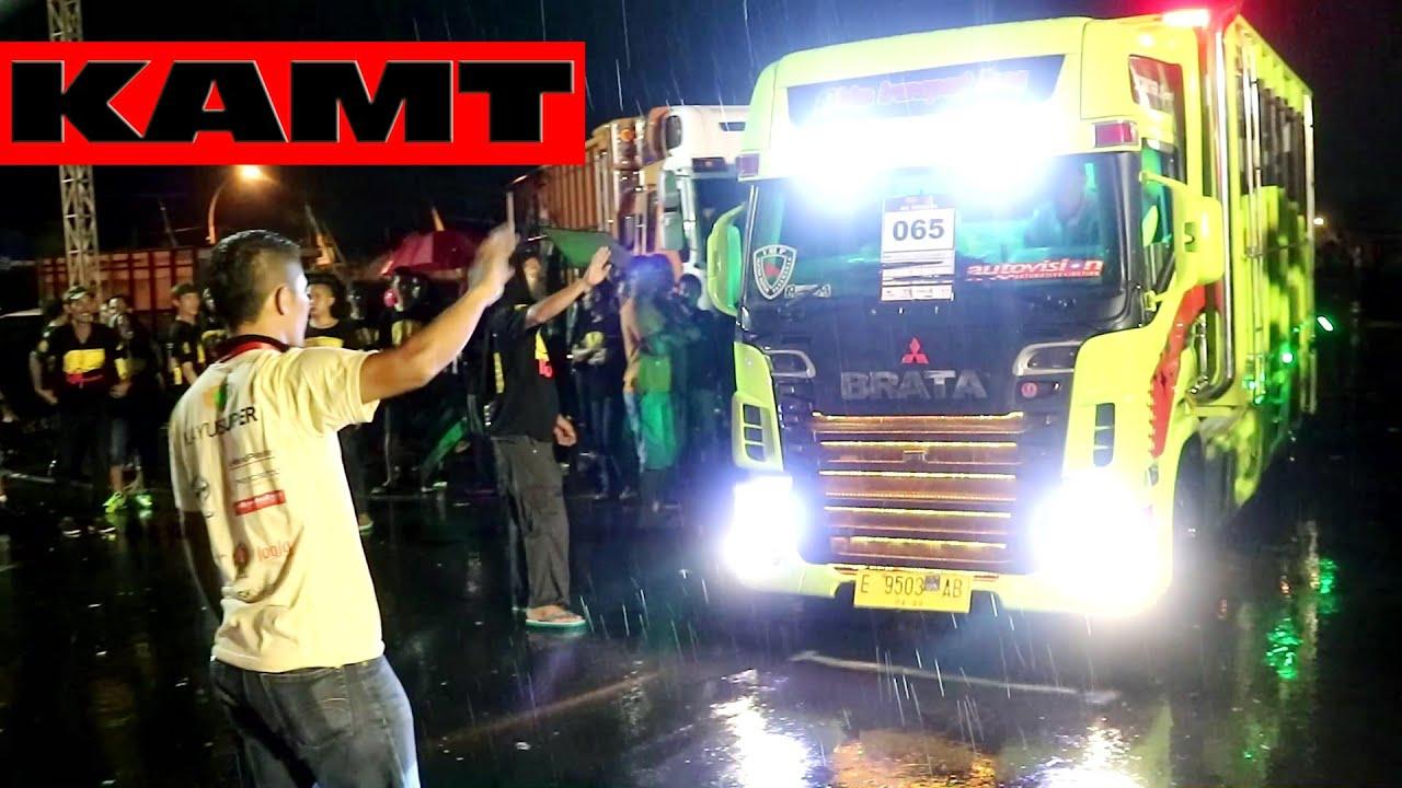 Beginilah Mewahnya Mobil Truk Modifikasi Para Juara Kontes Tampil Di