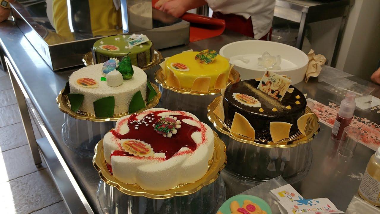 dimostrazione di decorazioni su torte moderne youtube