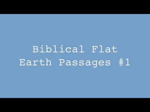 Biblical Flat Earth Passages #1 - Nature of the Heavens - Job 9, 22, 26, 37 thumbnail