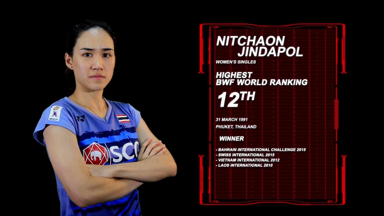 Dukung Nitchaon Jindapol di BCA Indonesia Open 2017