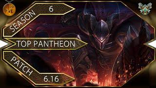 Pantheon Top - Пантеон топ [Patch 6.16]