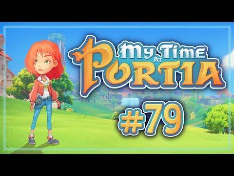 Прохождение My Time At Portia #79 Горячие источники